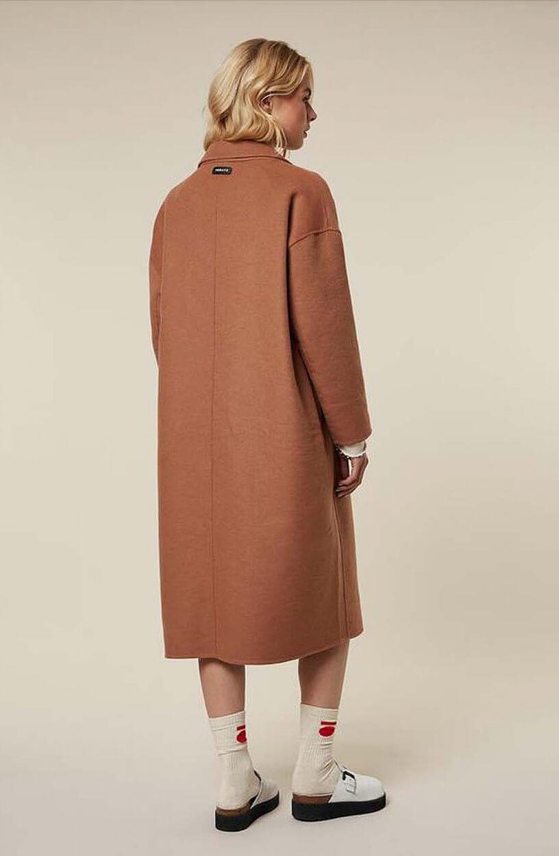 10 Days Dames Oversized jas Bruin