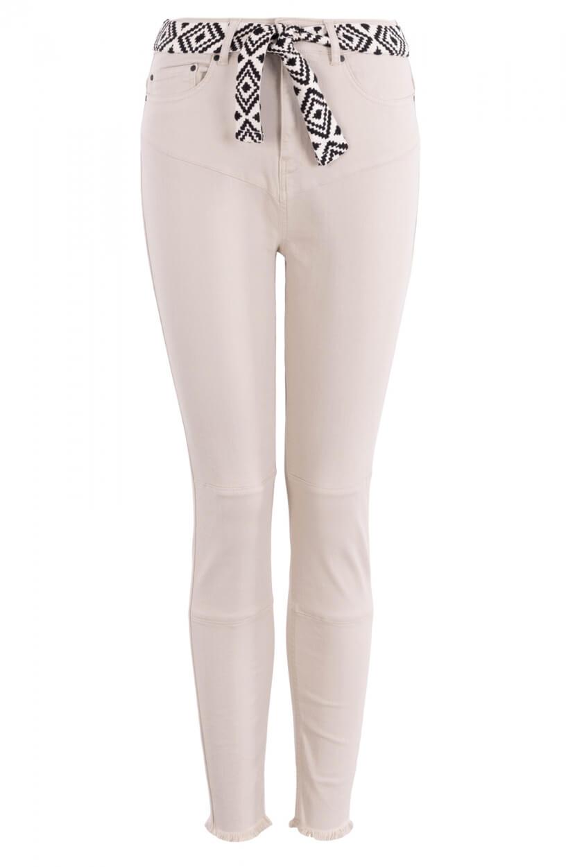 10 Days Dames Stretch jeans Ecru