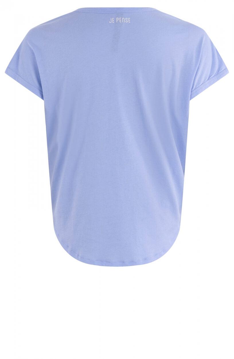 10 Days Dames Shirt A Toi Blauw