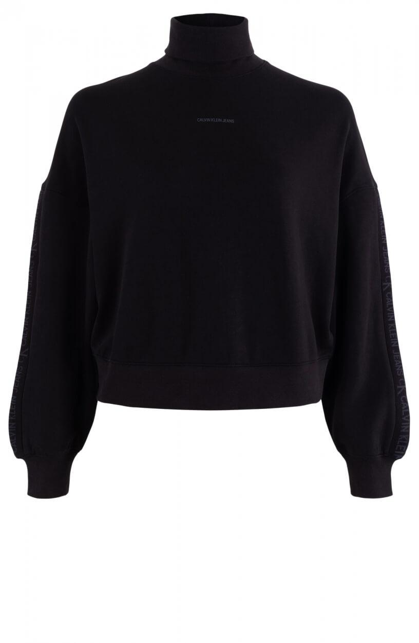 Calvin Klein Dames Sweater met col Zwart