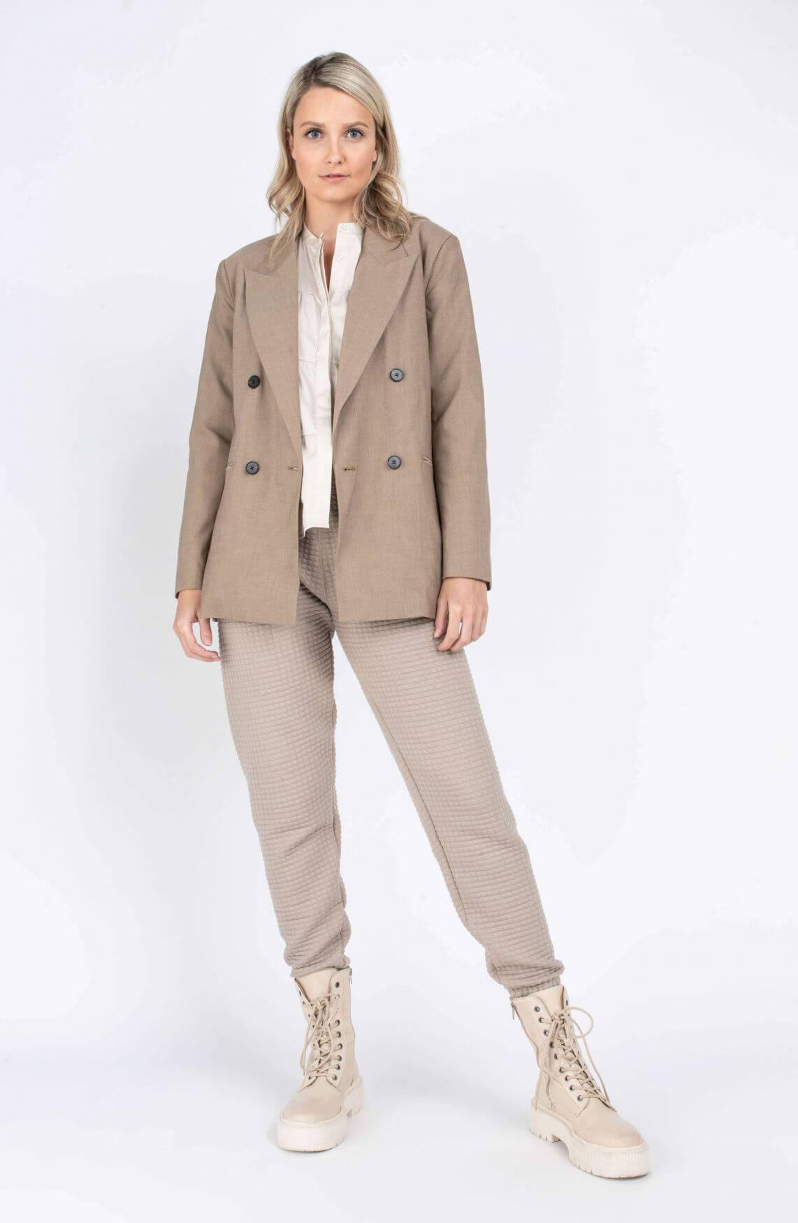 Co Couture Dames Tame blazer Bruin