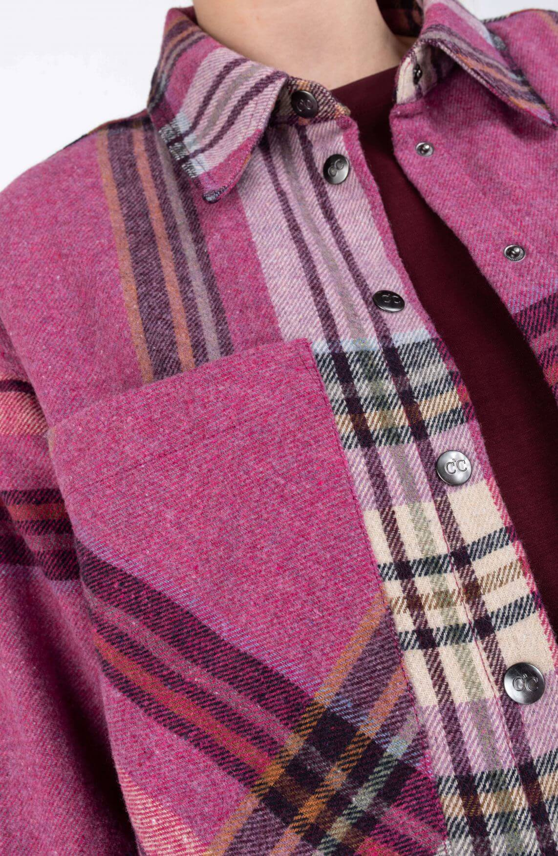 Co Couture Dames Kelsi overshirt Roze