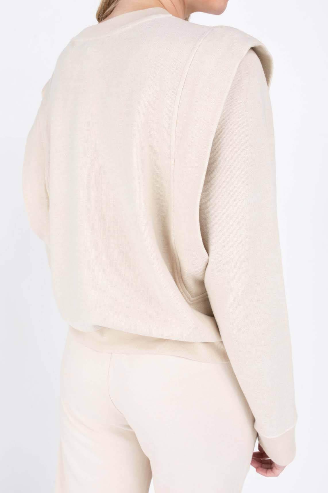 Drykorn Dames Omaria sweater Ecru
