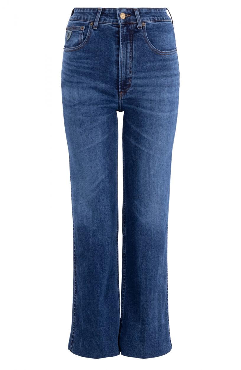 Lois Dames River jeans Blauw