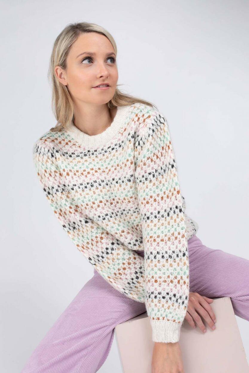 Nümph Dames Nucana pullover Grijs