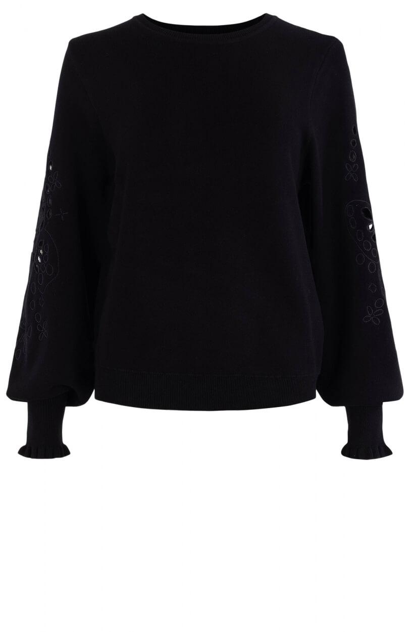 Nümph Dames Nucherilyn sweater Grijs