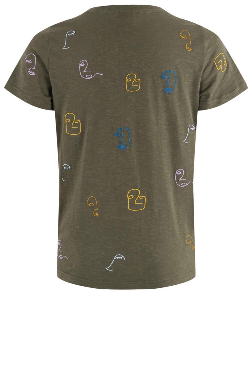Nümph Dames Nuberta shirt Groen