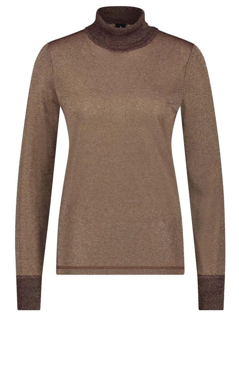 Jane Lushka Dames Josh pullover Bruin