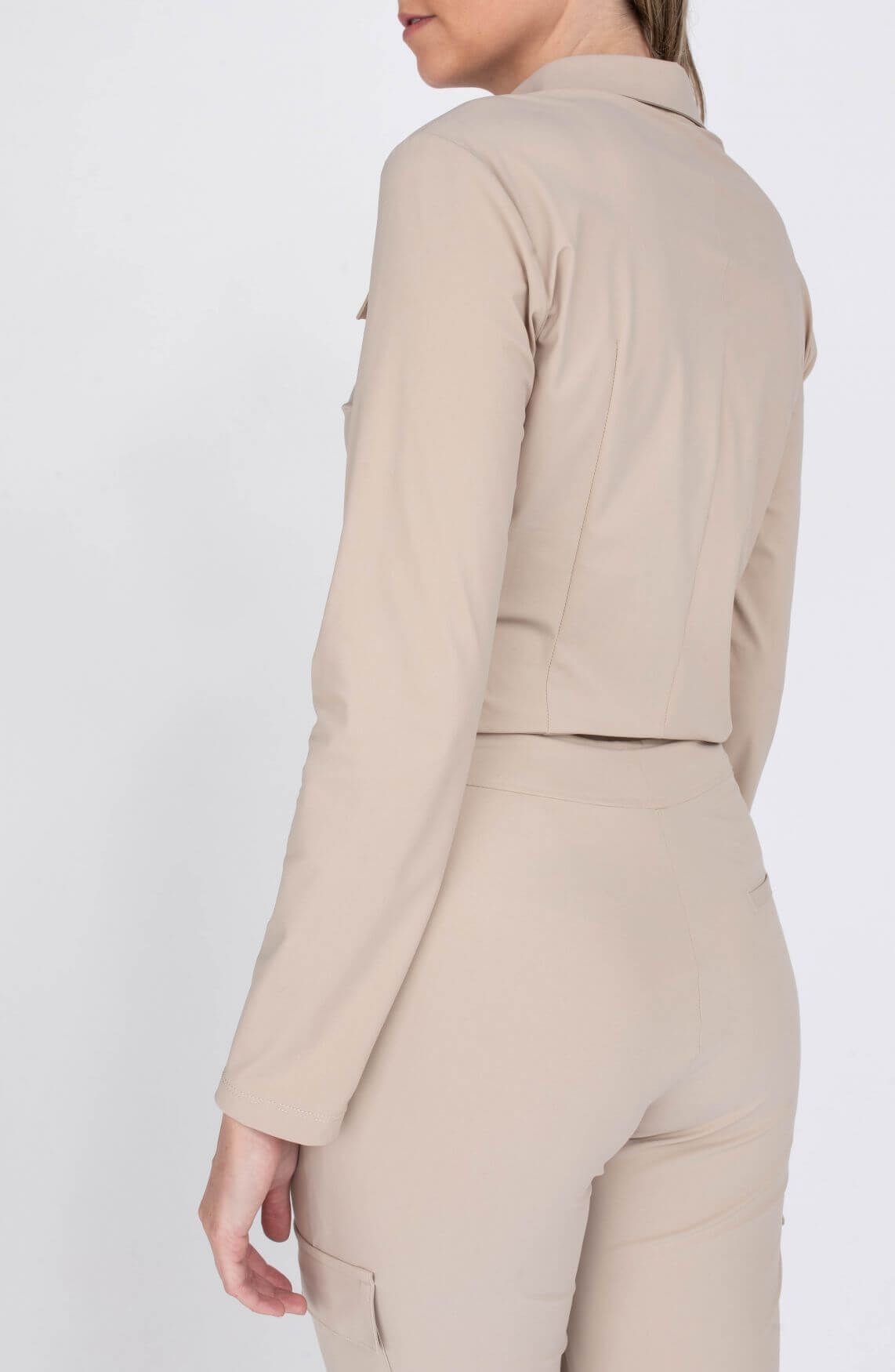 Jane Lushka Dames Sesil blouse Ecru
