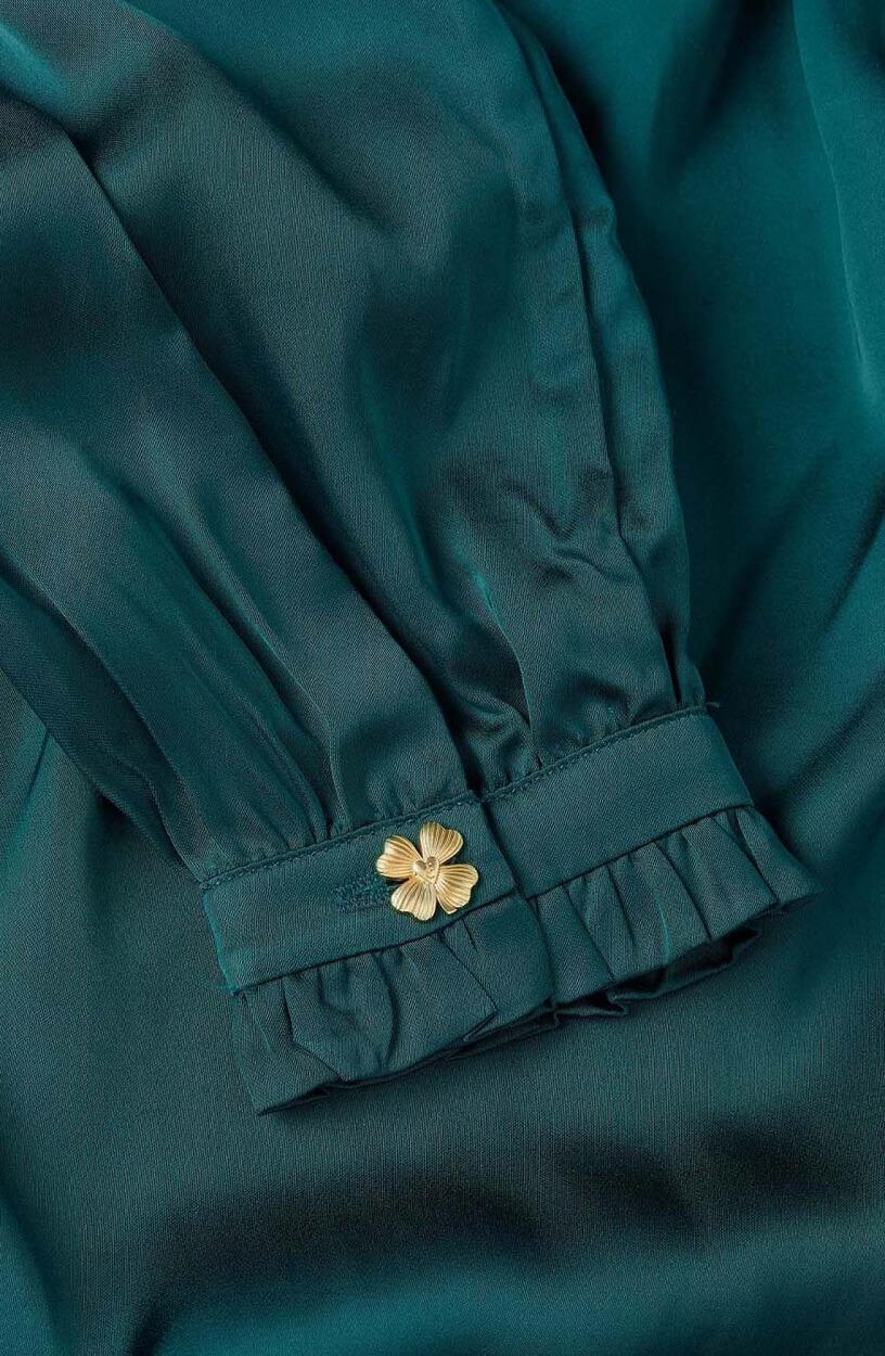 Fabienne Chapot Dames Mira blouse Groen