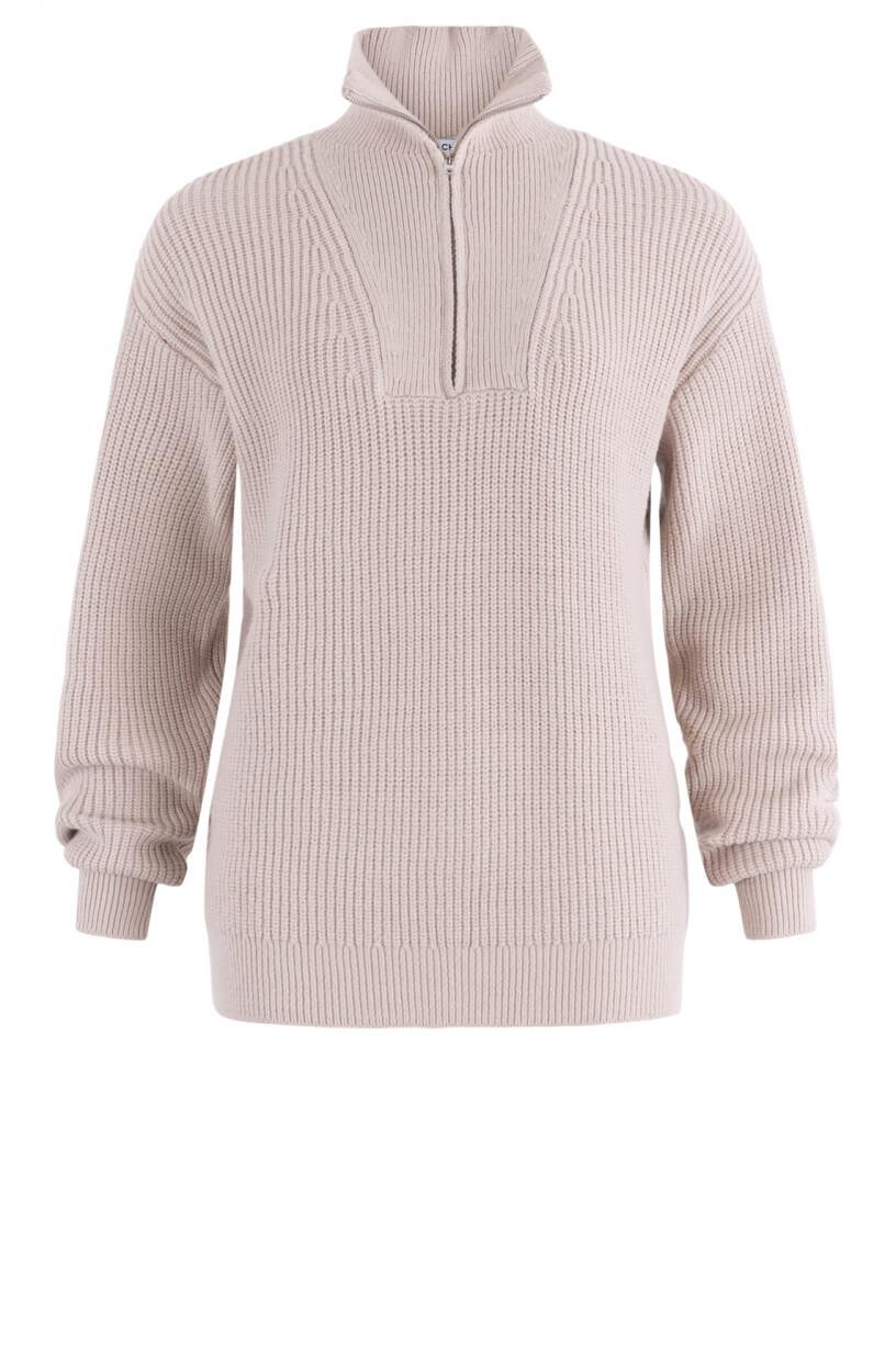 Moss Copenhagen Dames Elyce pullover Bruin
