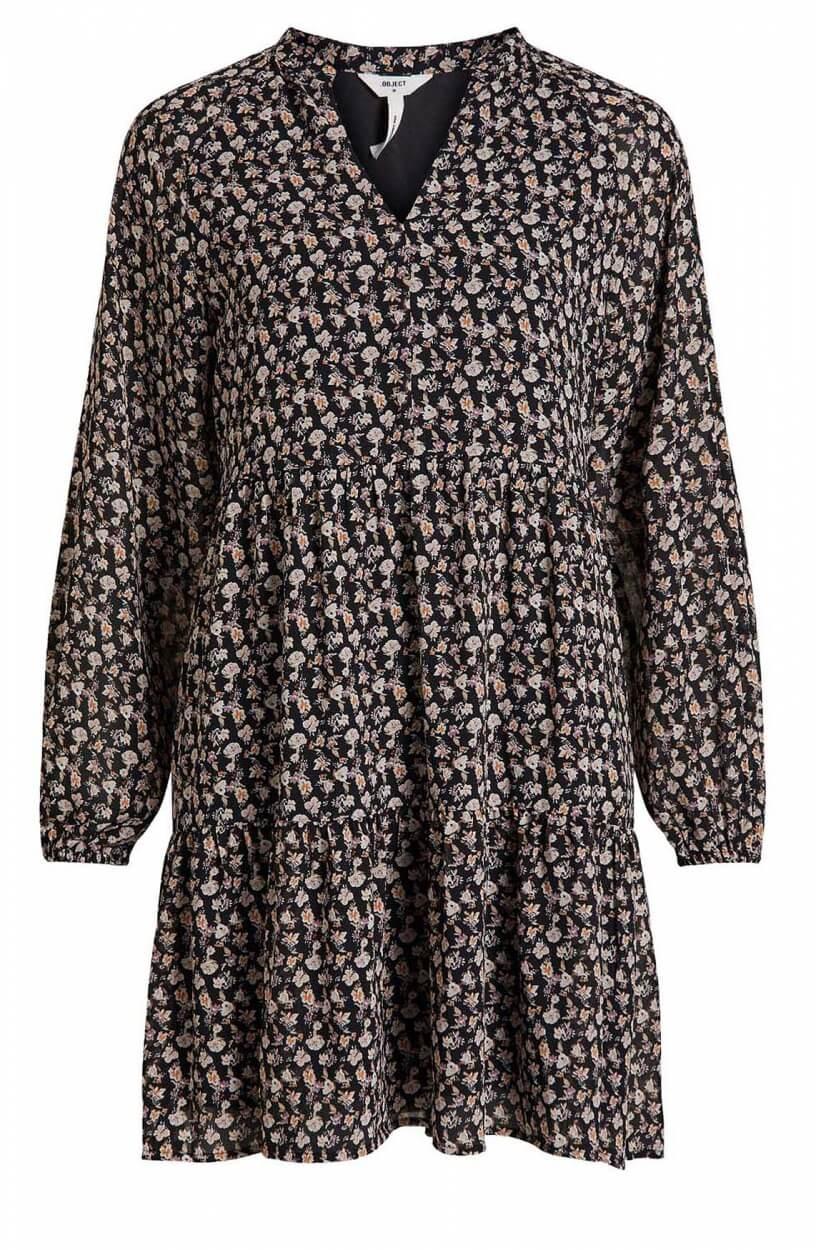 Object Dames Mila jurk Zwart