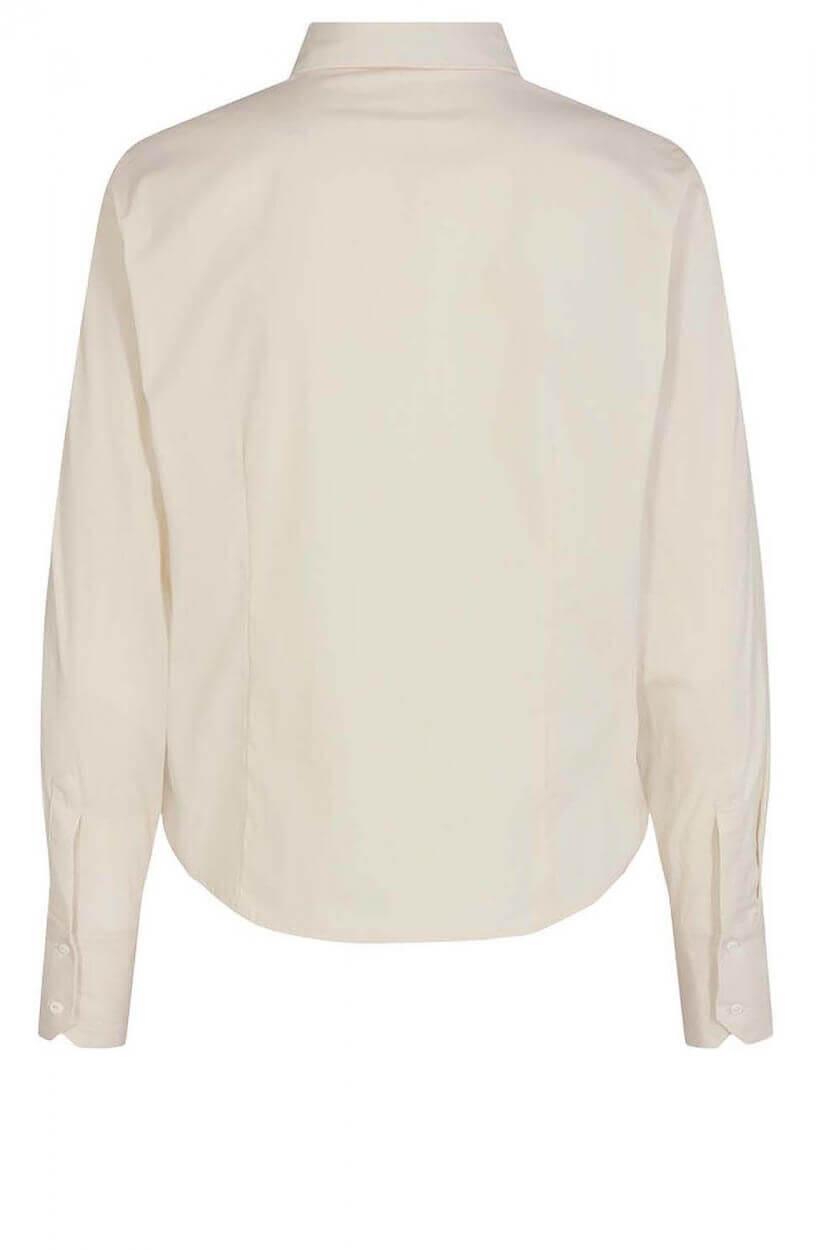 Copenhagen Muse Dames Smoking blouse Ecru