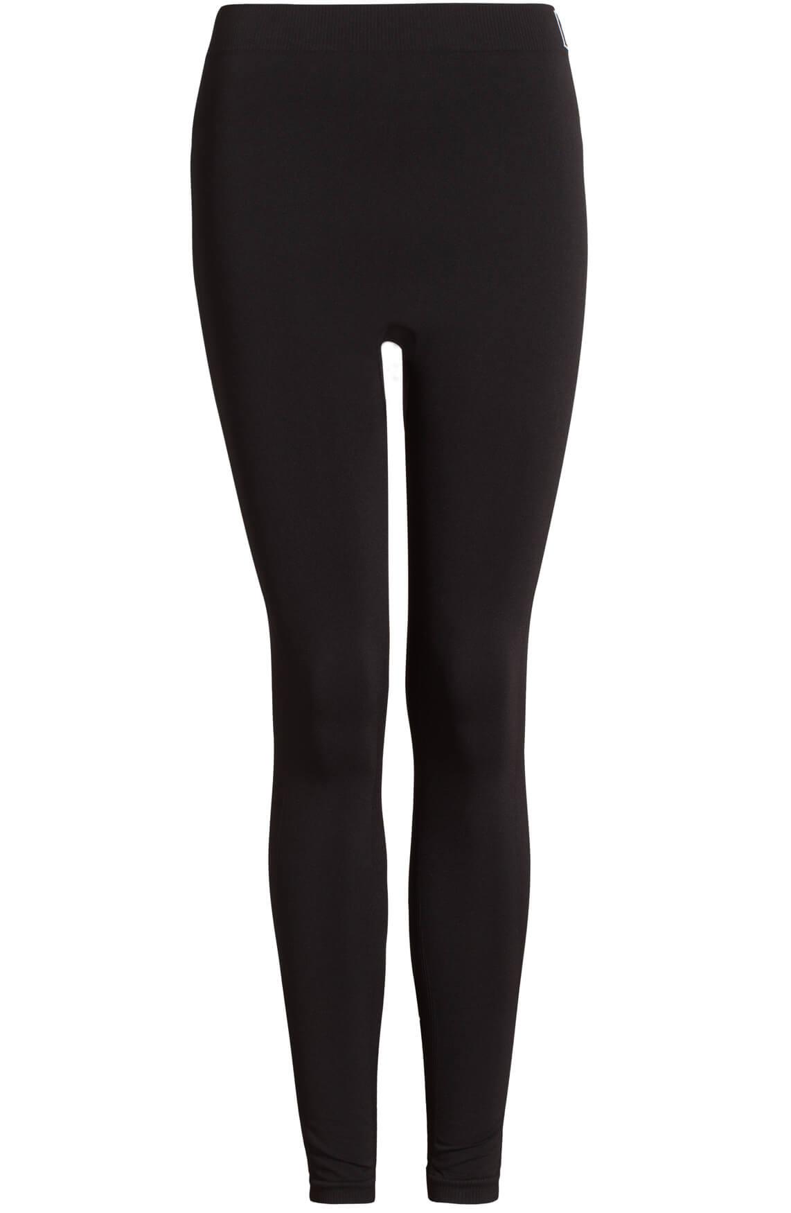 Anna Dames Seamless legging zwart