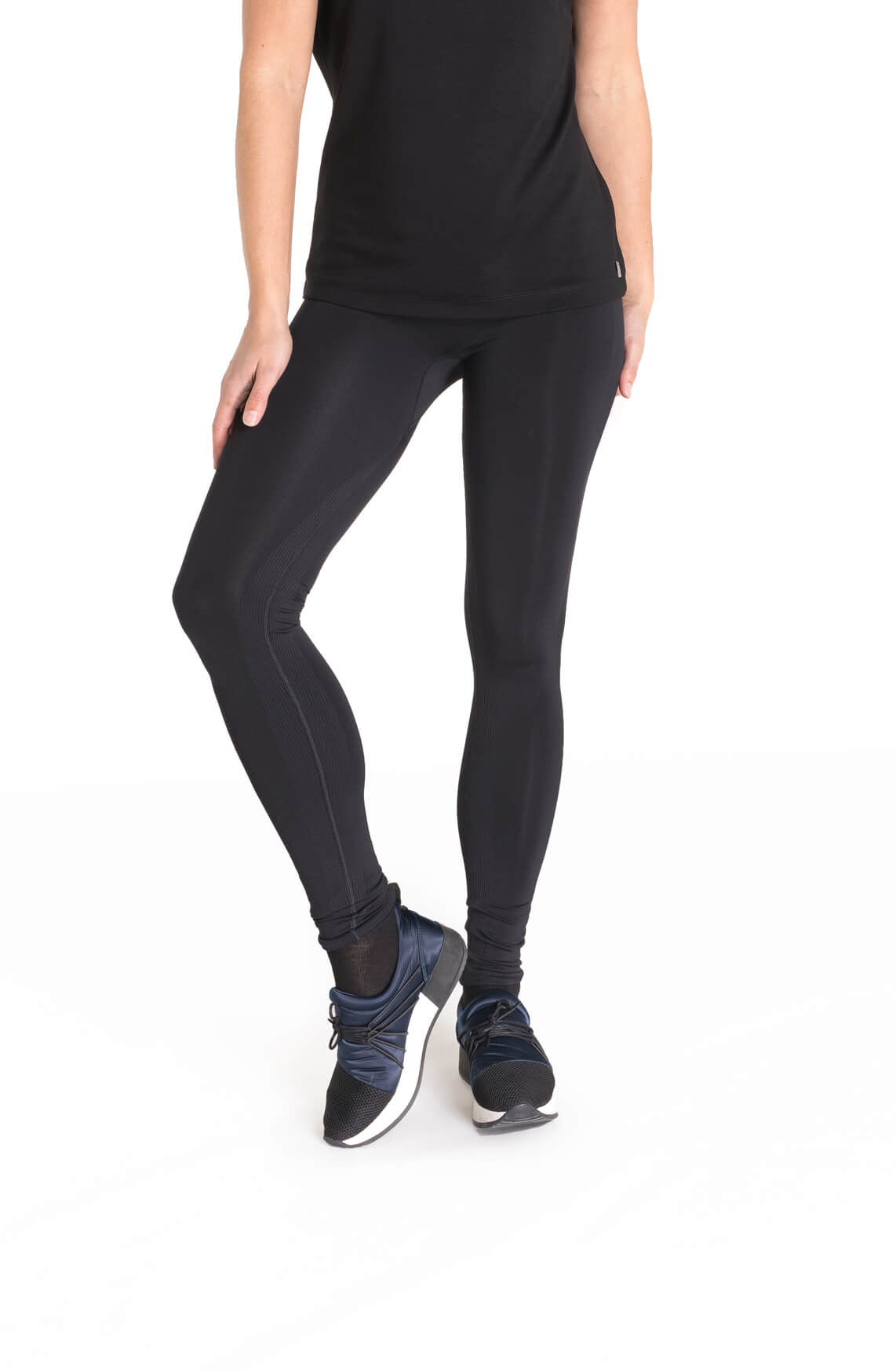 e463e05a52077e Anna Dames Seamless legging zwart. Van Anna. Previous