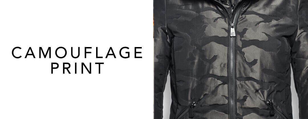 Camouflage jas - hip en tijdloos