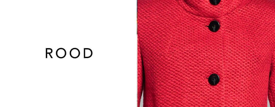 Rode jas – draag de kleur van passie
