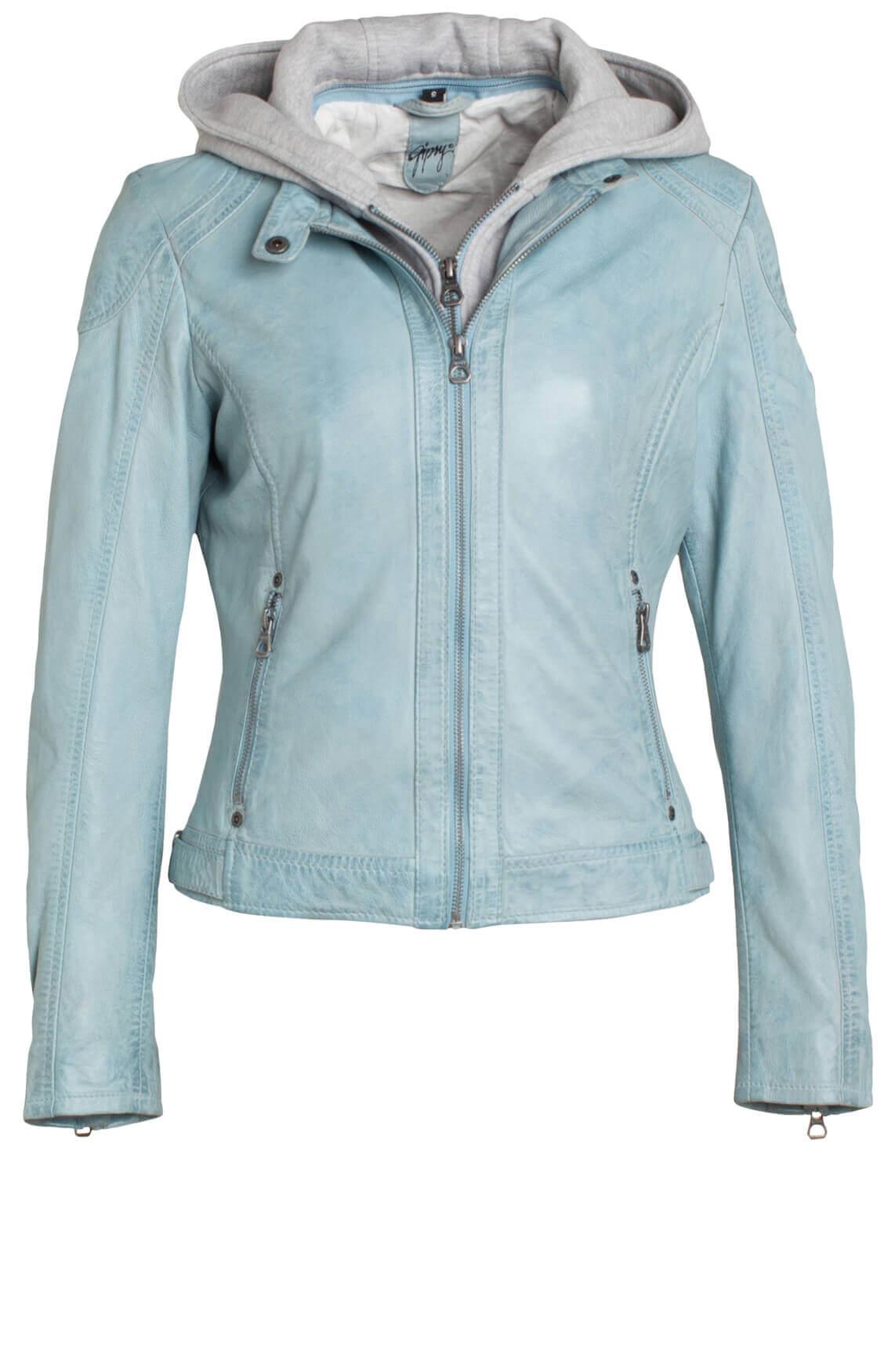 Gipsy Dames Bikerjack light blue