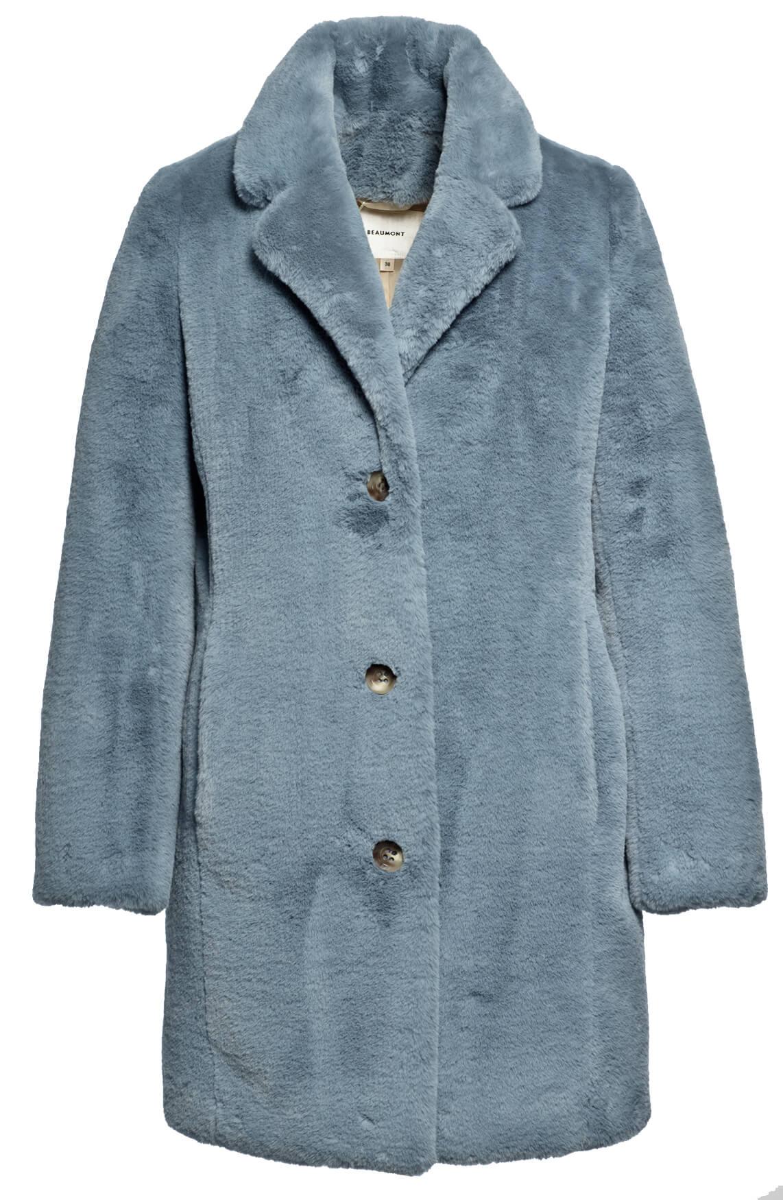 Beaumont Dames Zachte mantel Blauw