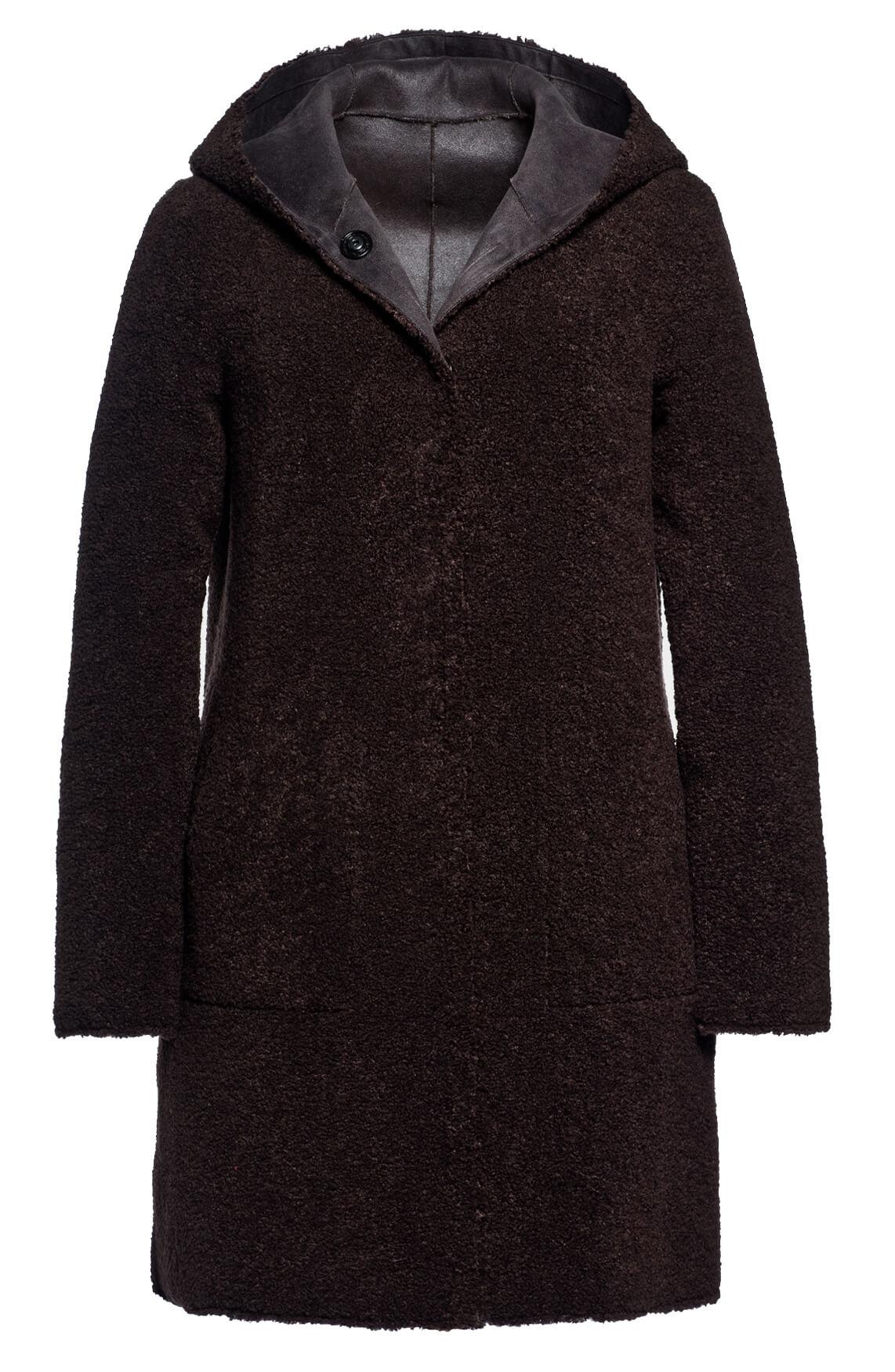 Beaumont Dames Reversible teddy jas zwart