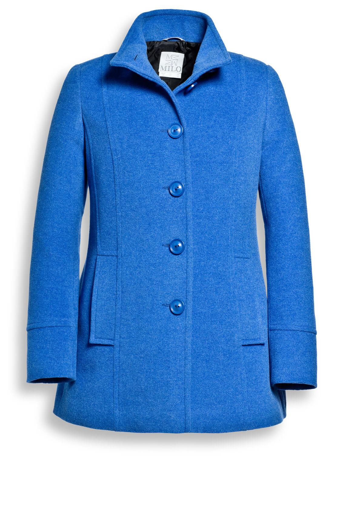Wollen jas Touraine | blauw | Arma | Little Soho