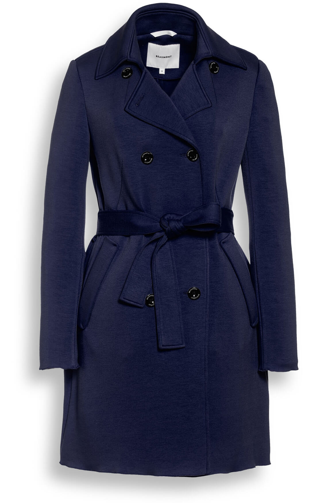 Beaumont Dames Trenchcoat Blauw