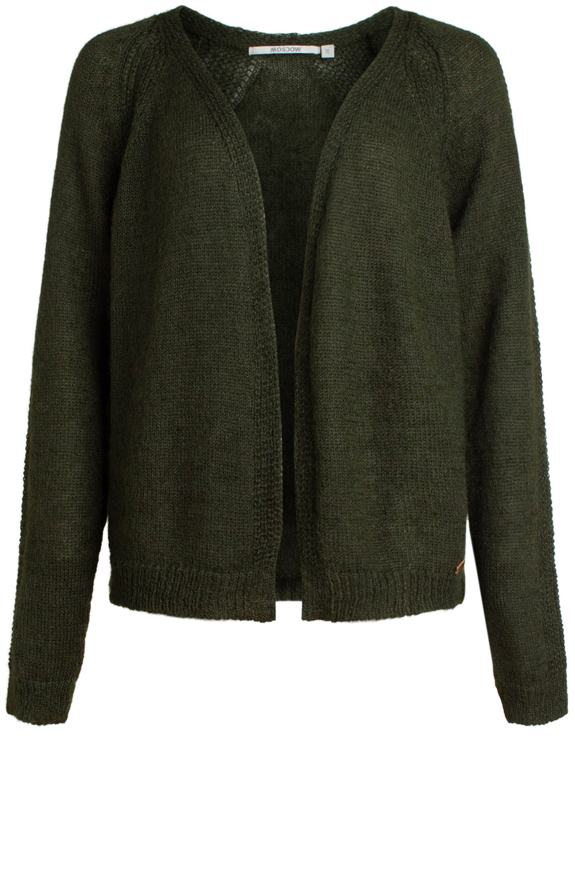 Moscow Dames Knitted cardigan groen