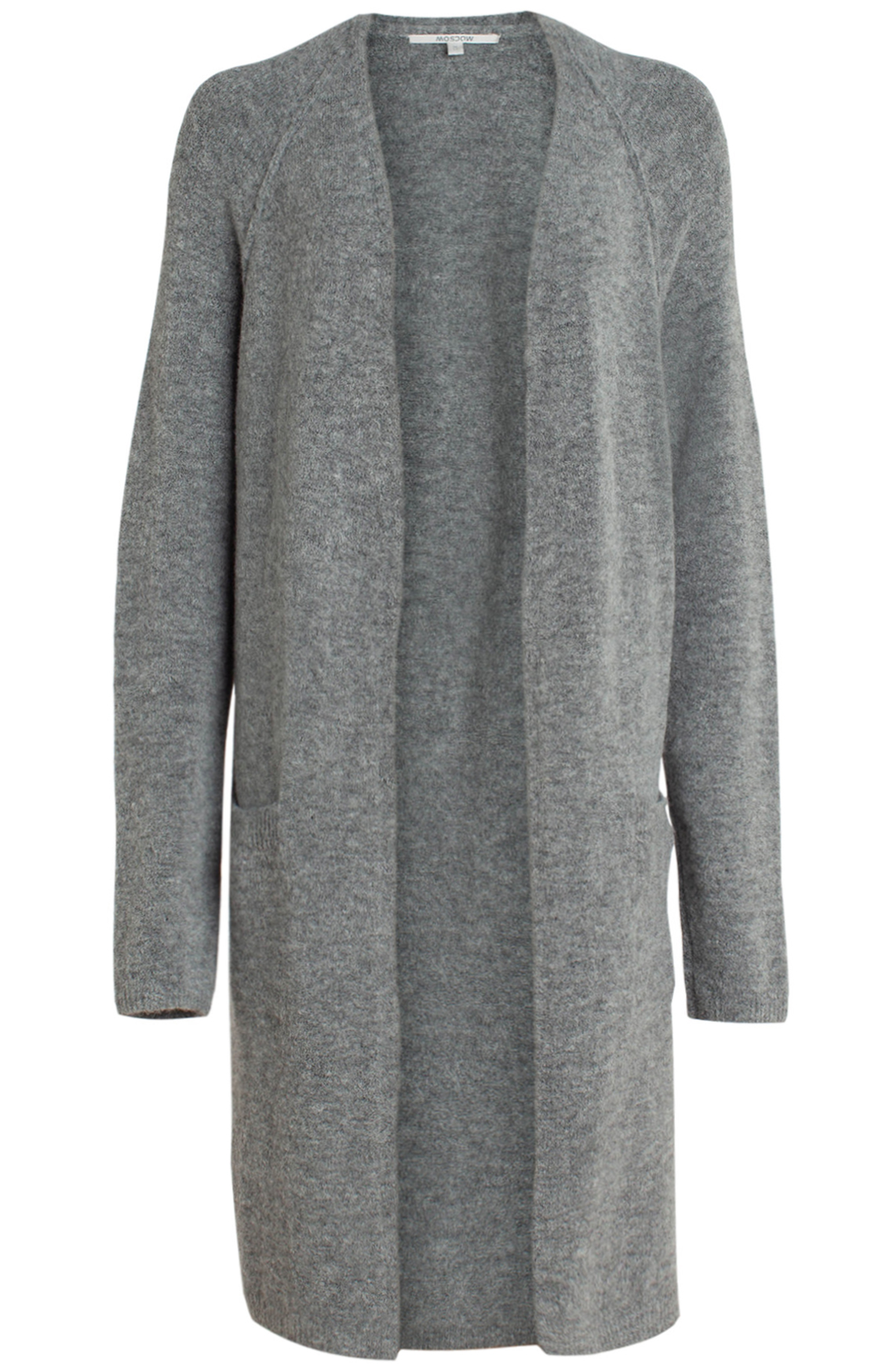 Moscow Dames Wool cardigan Grijs