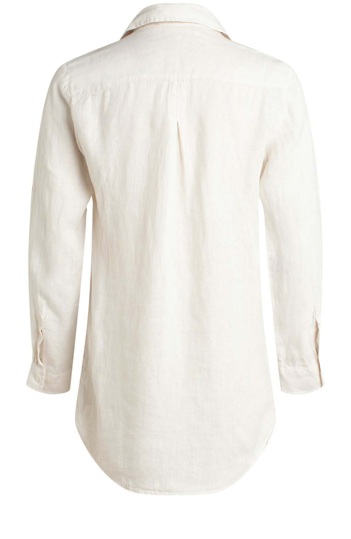 Moscow Dames Linen blouse wit