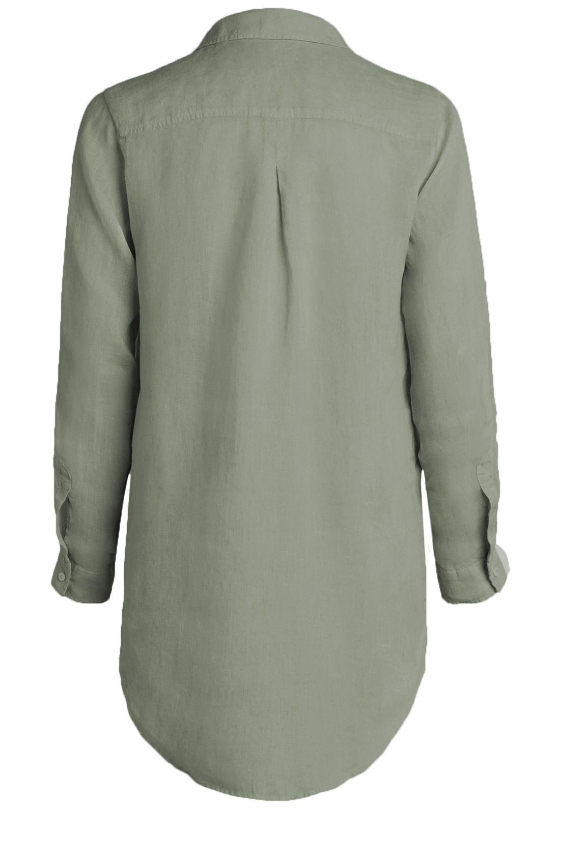 Moscow Dames Linen blouse groen
