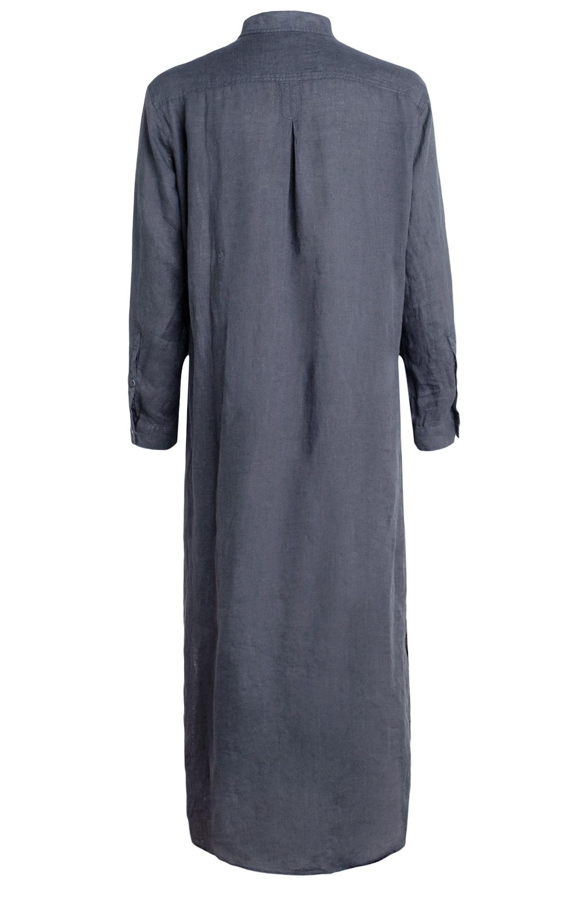 Moscow Dames Lange blousejurk Blauw