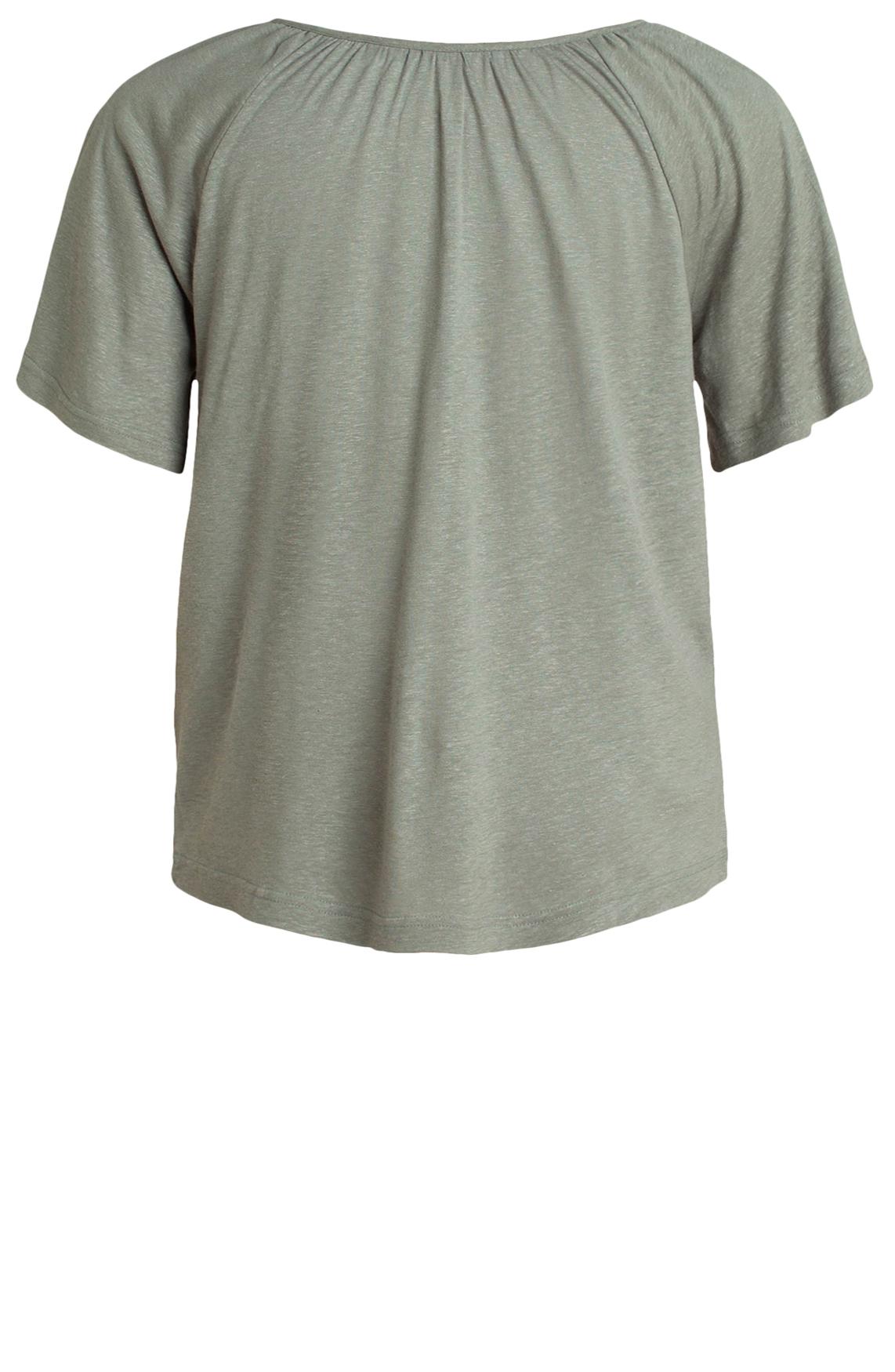 Moscow Dames Shirt met V-hals groen
