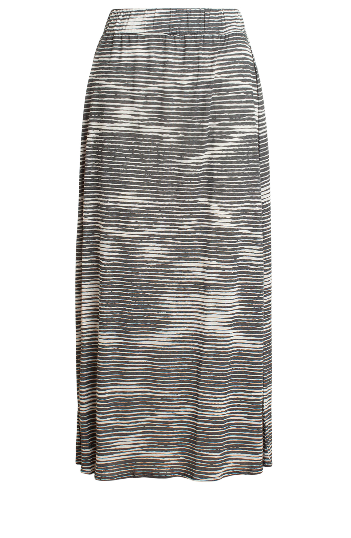 Moscow Dames Long skirt with stripes Grijs