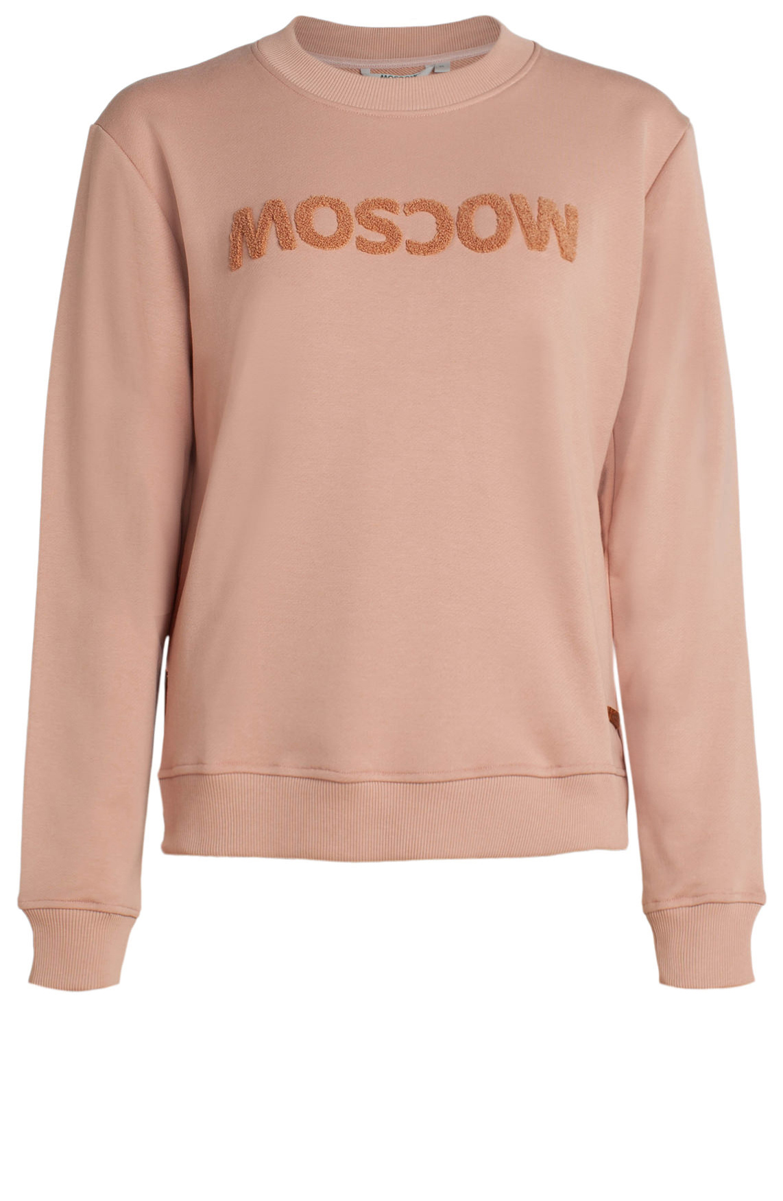 Moscow Dames Sweater with Moscow logo roze