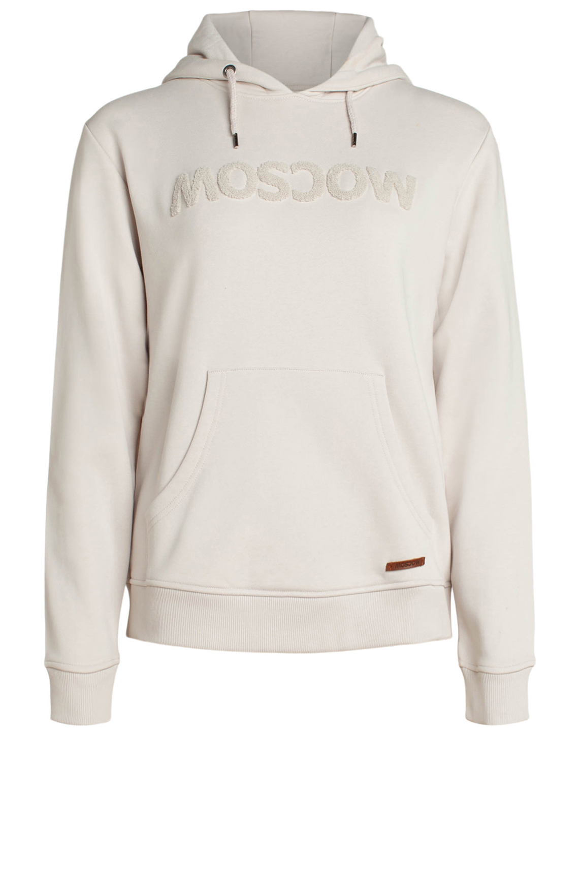 Moscow Dames Pullover with hood Ecru