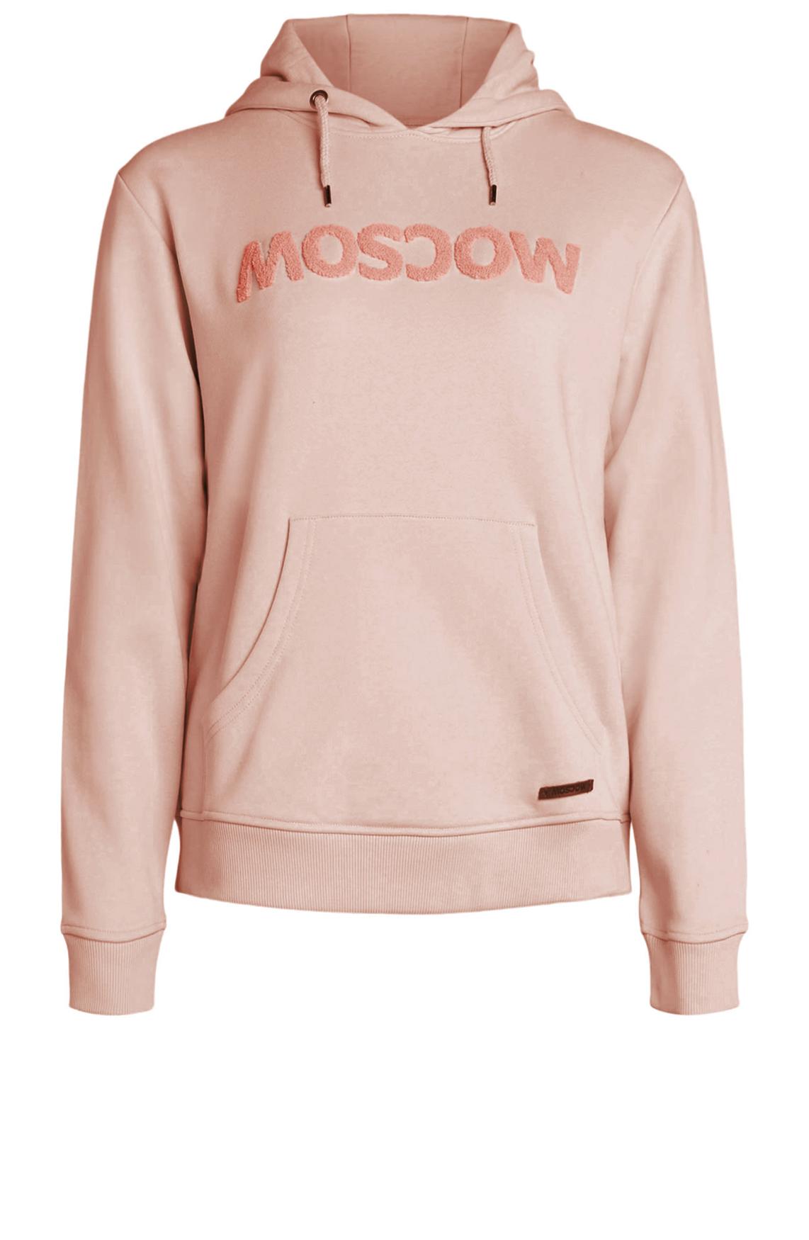 Moscow Dames Trui met capuchon roze