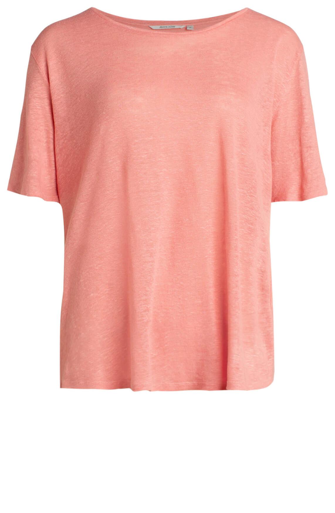 Moscow Dames Linnen shirt roze