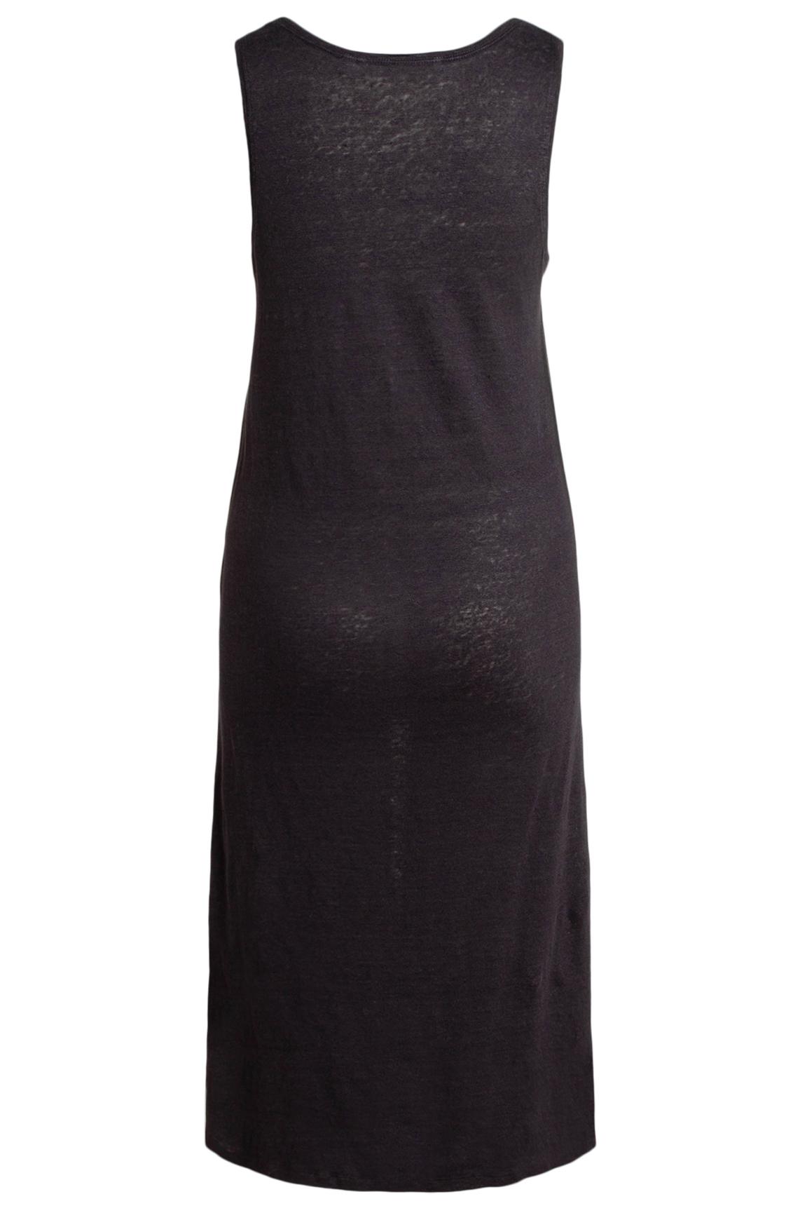 Moscow Dames Linen singlet dress Grijs