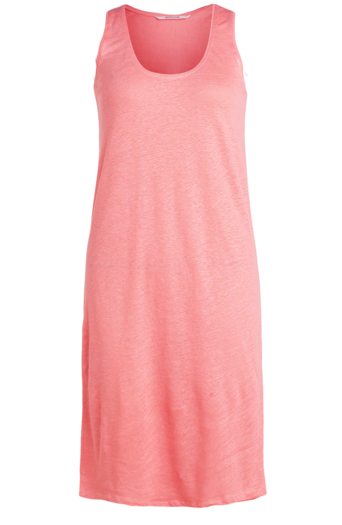 Moscow Dames Linen singlet dress roze