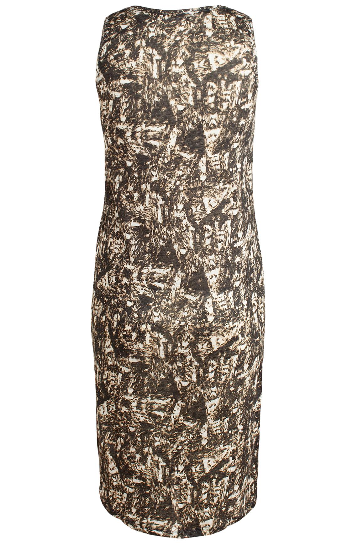 Moscow Dames Linnen singlet jurk zwart