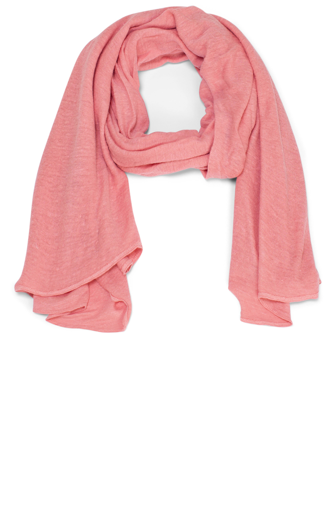Moscow Dames Linen scarf Roze