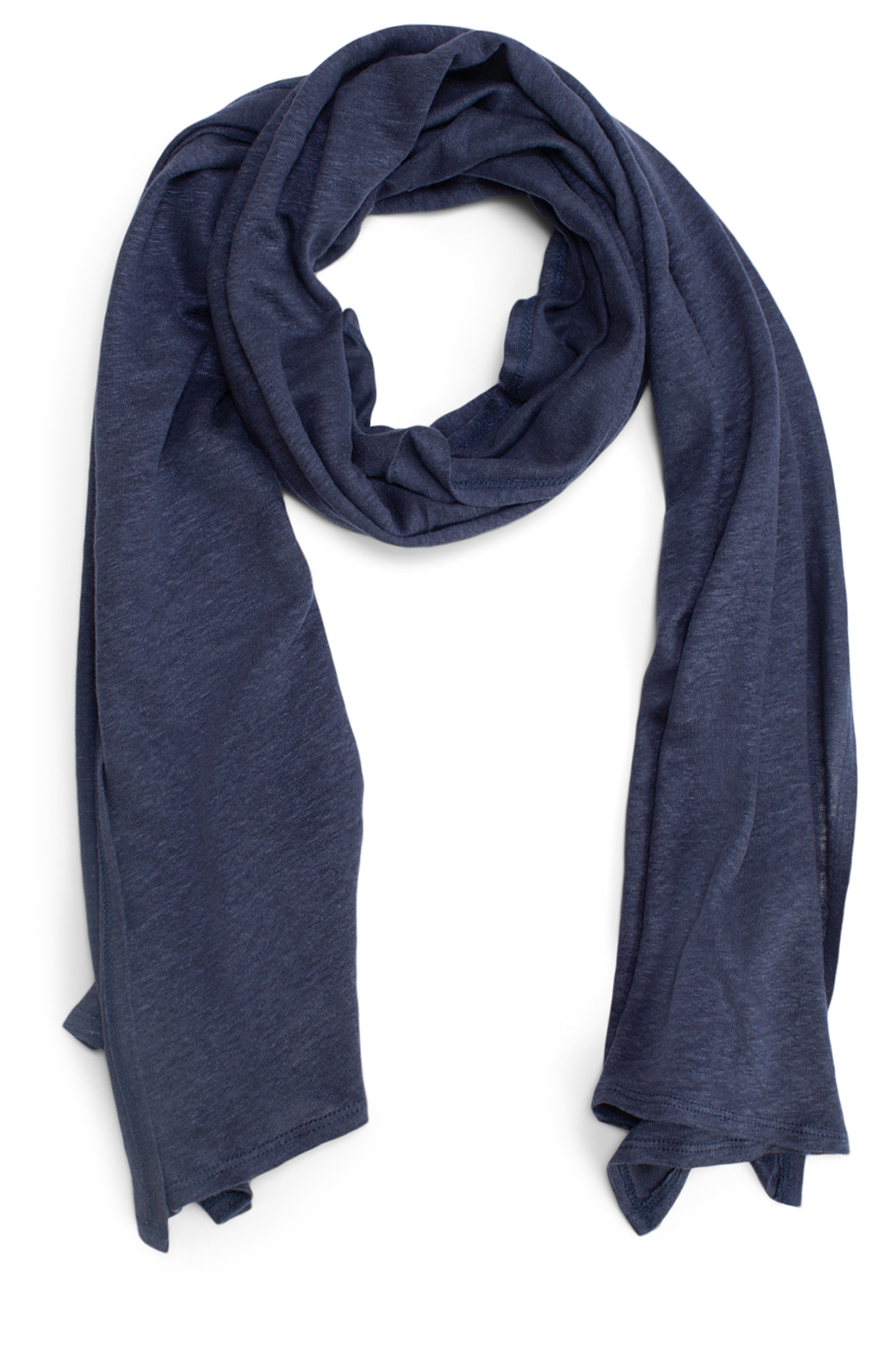 Moscow Dames Linen scarf Blauw