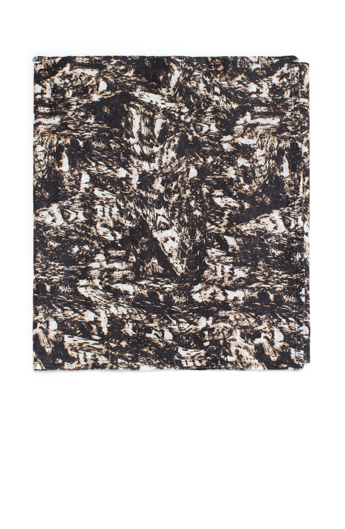 Moscow Dames Scarf with print zwart