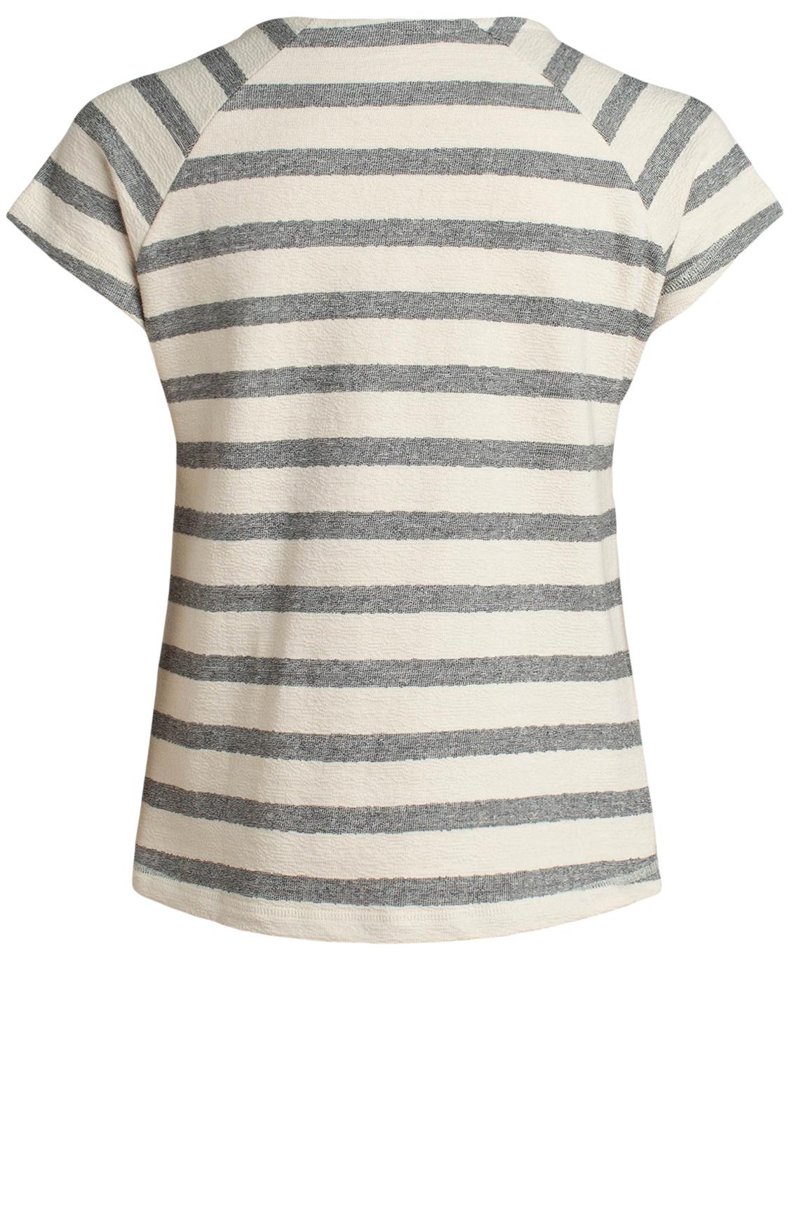 Moscow Dames Striped shirt Ecru