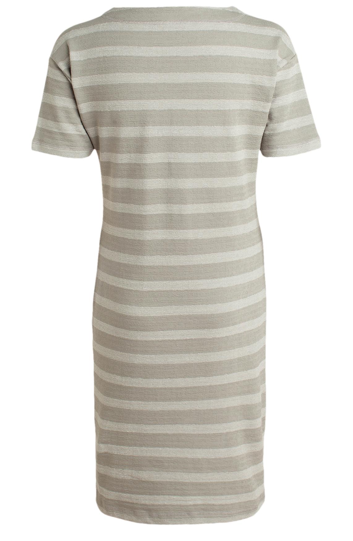 Moscow Dames Striped dress groen