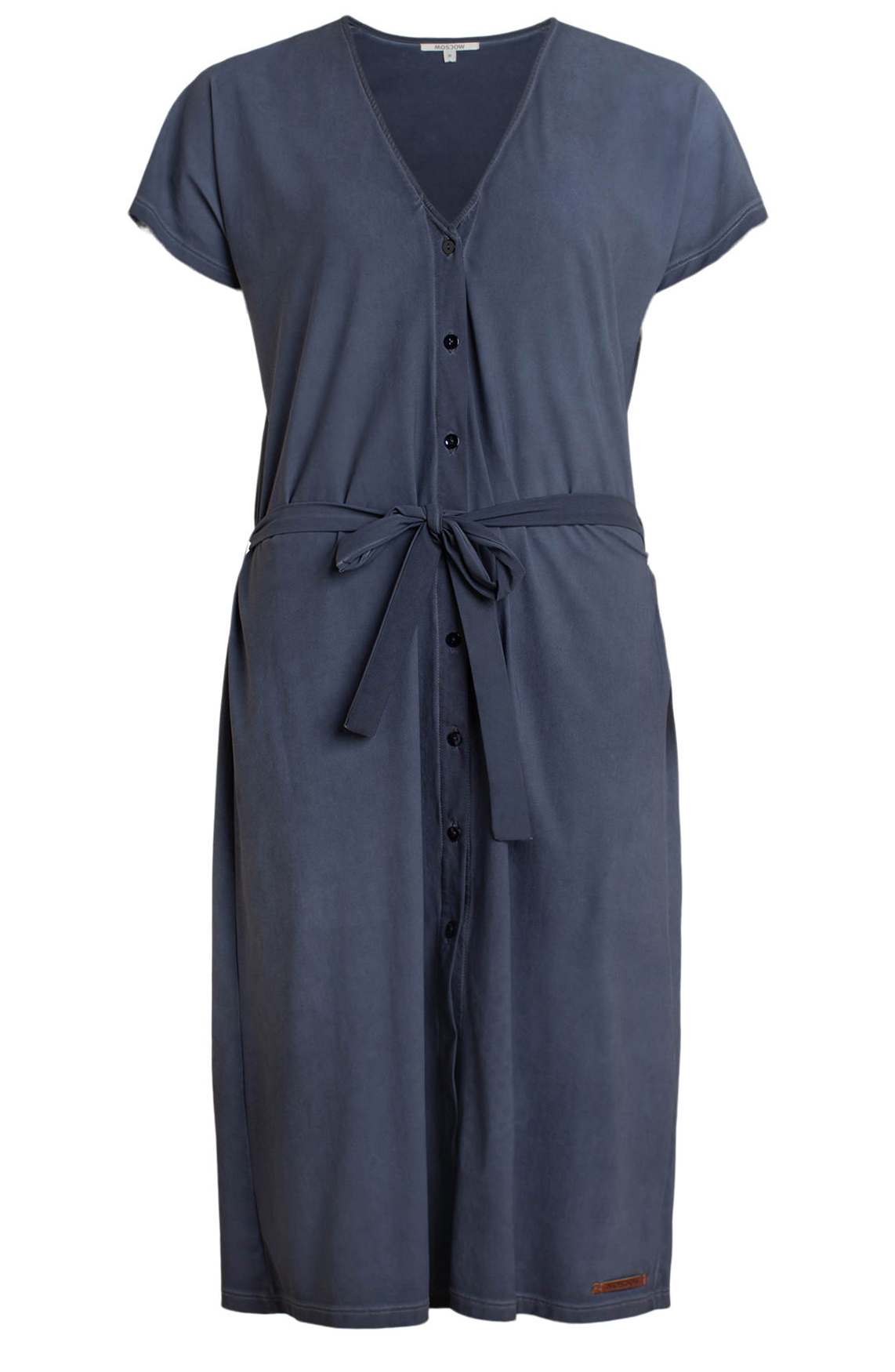 Moscow Dames Garmet Dye dress Blauw