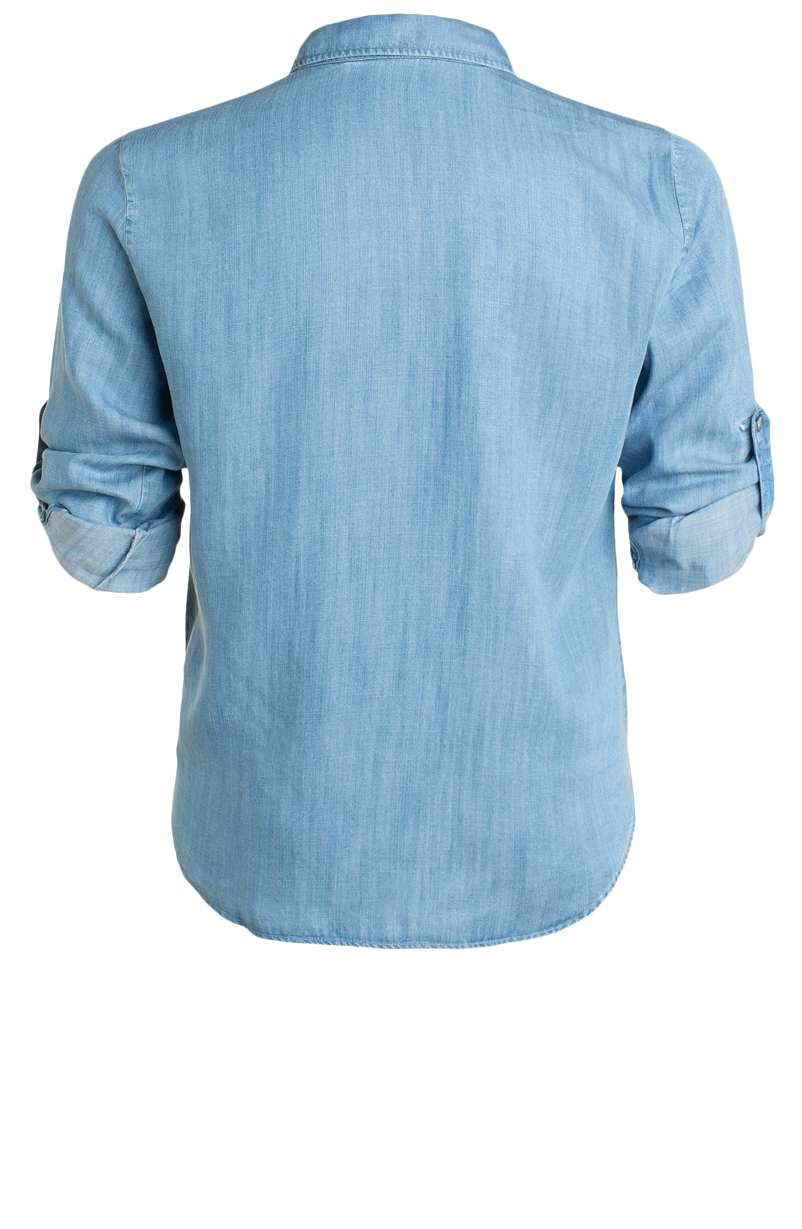 Moscow Dames Jeans blouse Blauw