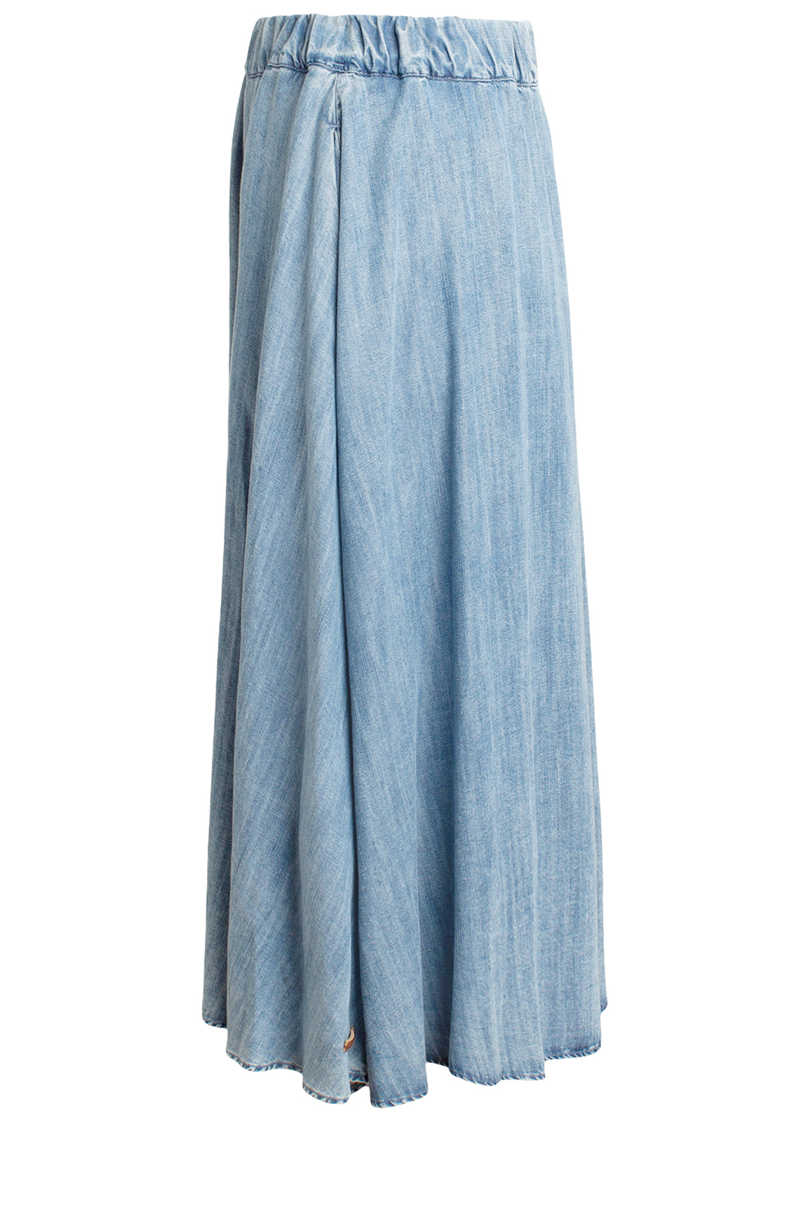 Moscow Dames Denim skirt Blauw