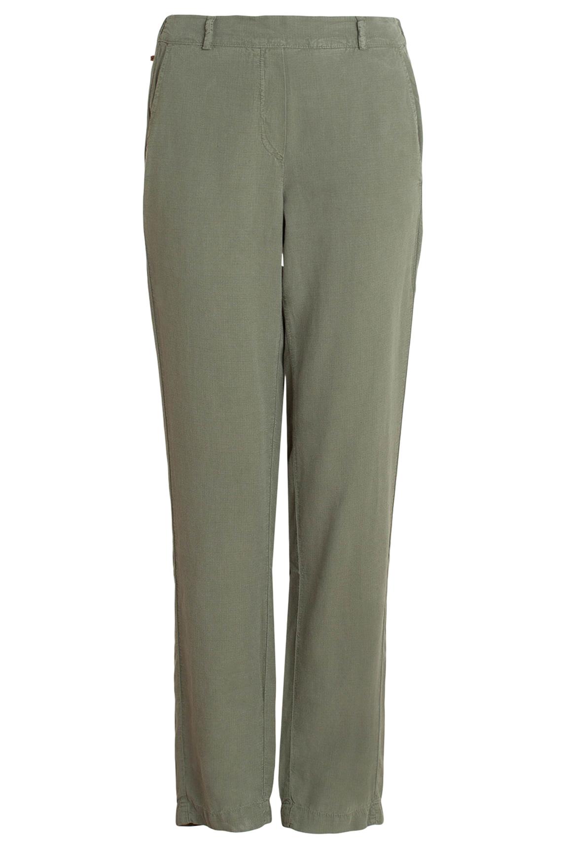 Moscow Dames Tencel pants groen