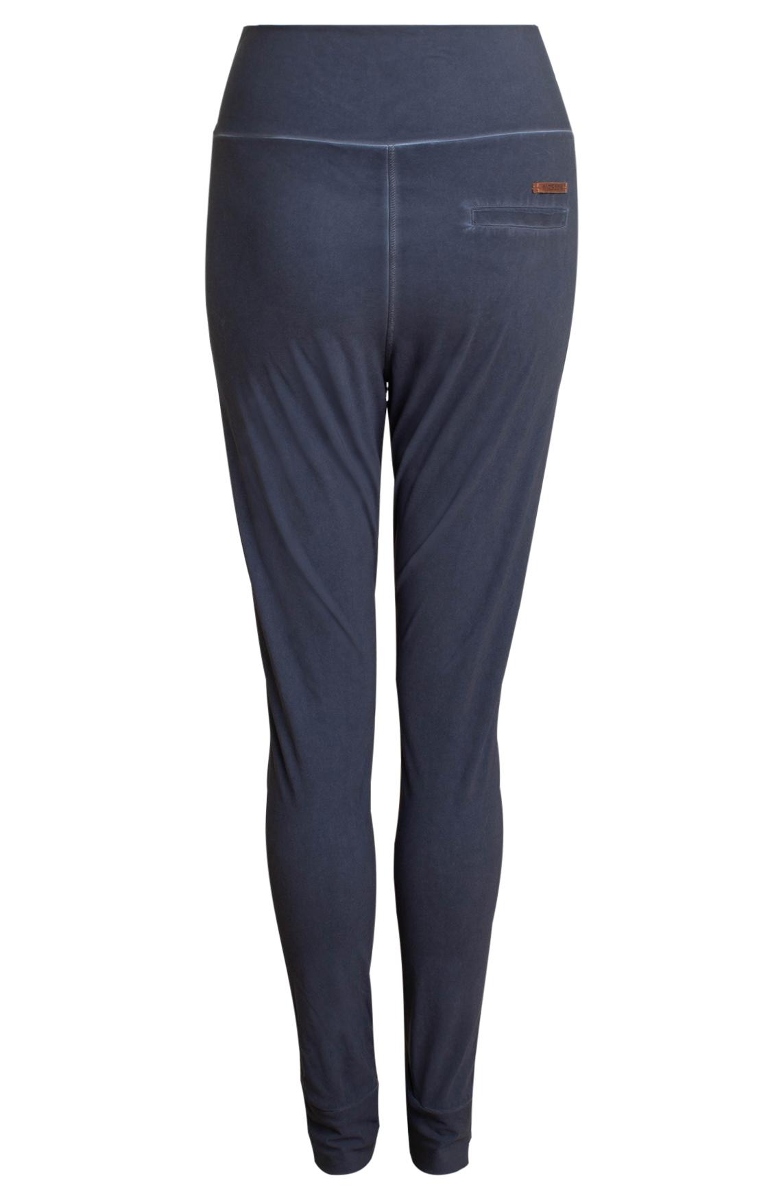 Moscow Dames Garment dye pants Blauw
